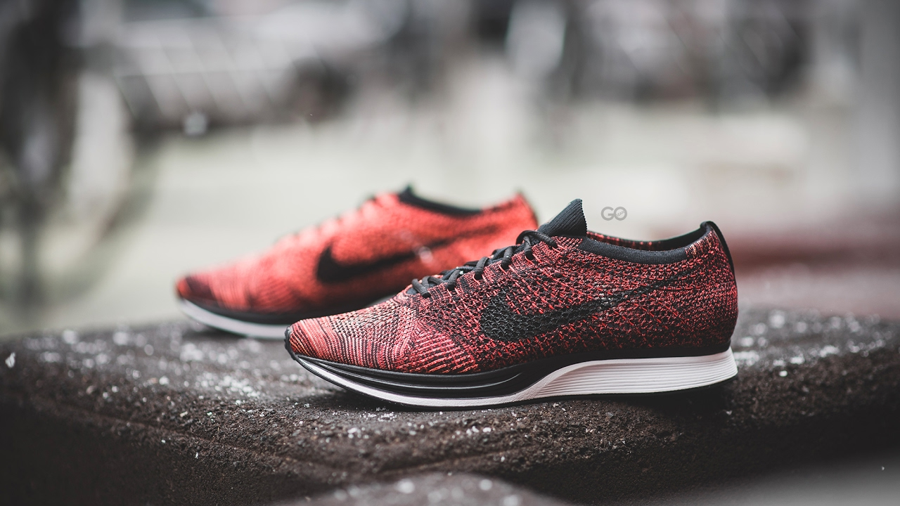 official photos 6ed5d 4917a Review   On-Feet  Nike Flyknit Racer