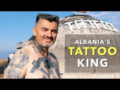 Albania's Tattoo King