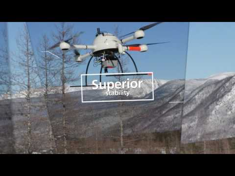 Microdrones LiDAR Solution Demo: Photos from Avalanche Detection Mission 1