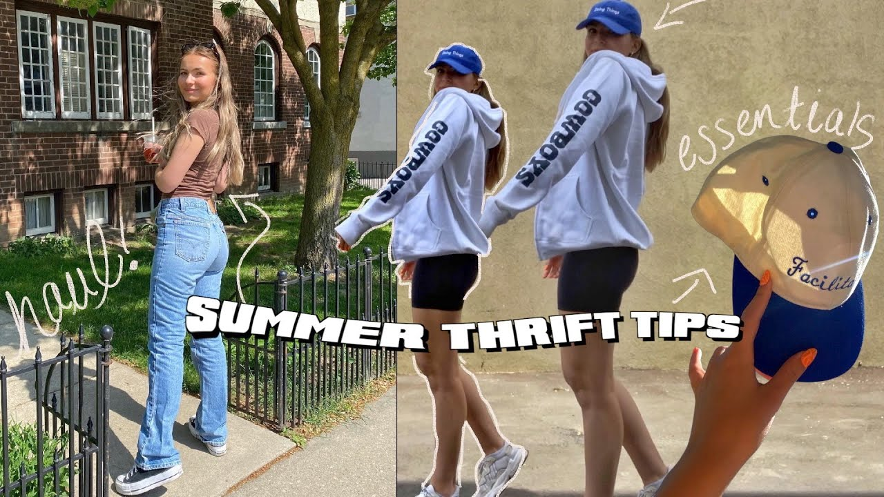 10 things to THRIFT this summer + thrift trip car reveal!