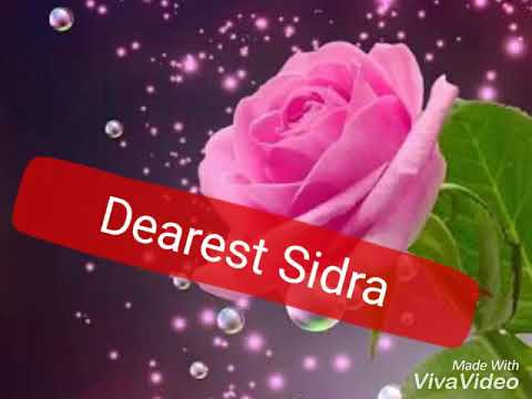 Happy Birthday Sidra 2018 Youtube