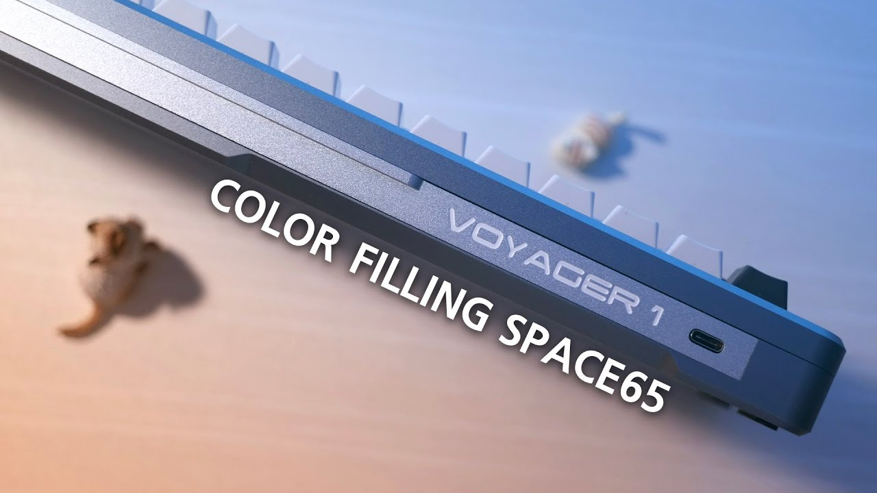 Color Filling SPACE65 Custom Mechanical Keyboard