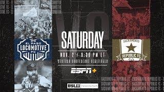 2019 USL Championship Playoffs: El Paso Locomotive FC vs. Sacramento Republic FC