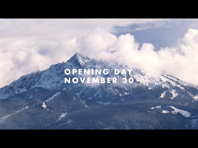 Opening For Winter 2019.20 November 30