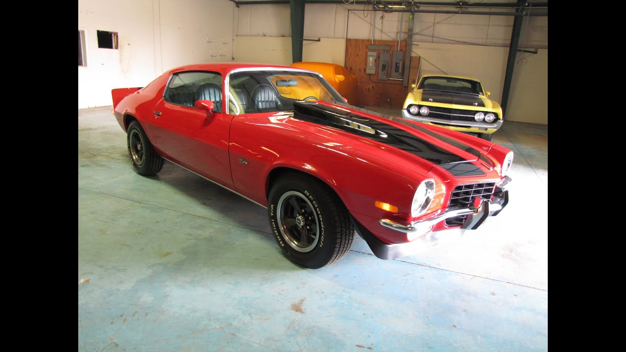 SOLD SOLD SOLD 1973 Camaro Z/28 @ Erics Muscle Cars - YouTube