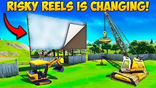 *NEW EVENT* RISKY REELS IS CHANGING!! - Fortnite Funny Fails and WTF Moments! #762