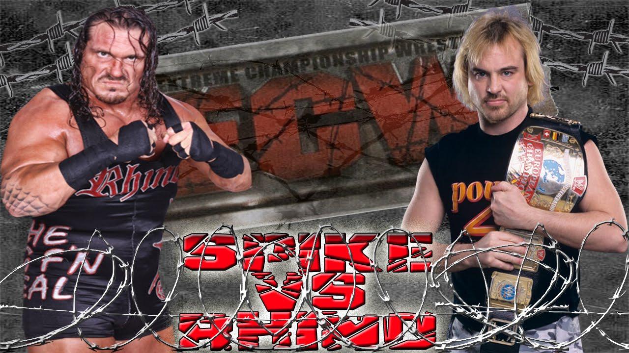 WWE 2K15 ECW SPECIAL RHINO VS SPIKE DUDLEY EXTREME RULES - XBOX ONE