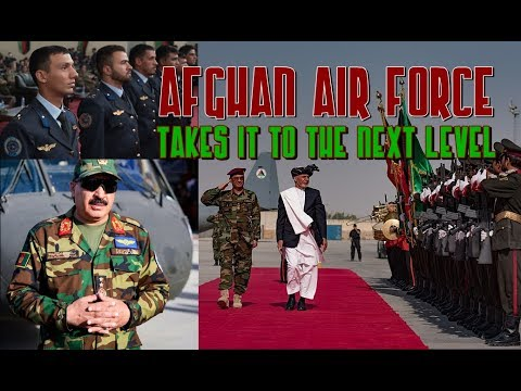 AFGHAN AIR FORCE TODAY: Young Men Fighting Terrorism Graduate & New Warplanes Arrive!