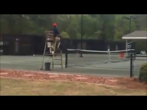 Taylor Townsend beats 69-year-old Gail Falkenberg 6-0, 6-0 in Alabama