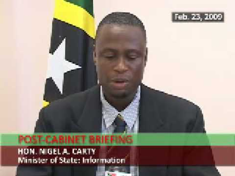 St. Kitts & Nevis Post-Cabinet Statement (February 23, 2009)