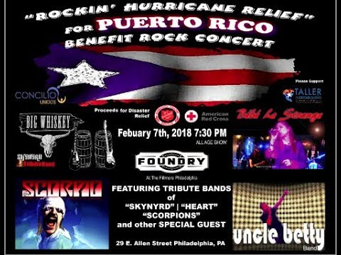 Rockin Hurricane Relief Concert for PR
