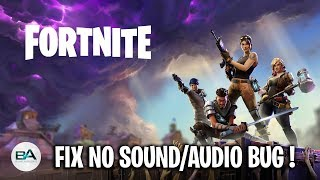 fortnite voice chat not working pc