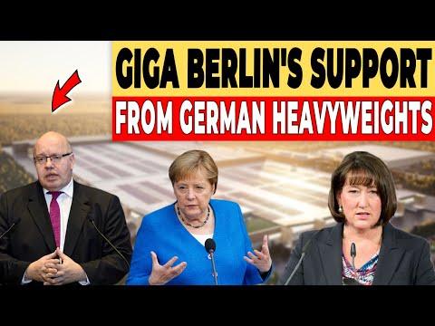 Strong Giga Berlin Support From German Heavyweights
