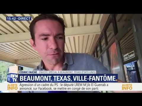 """Harvey: Beaumont, Texas, ville-fantôme, """"c'est vraiment troublant"""""""