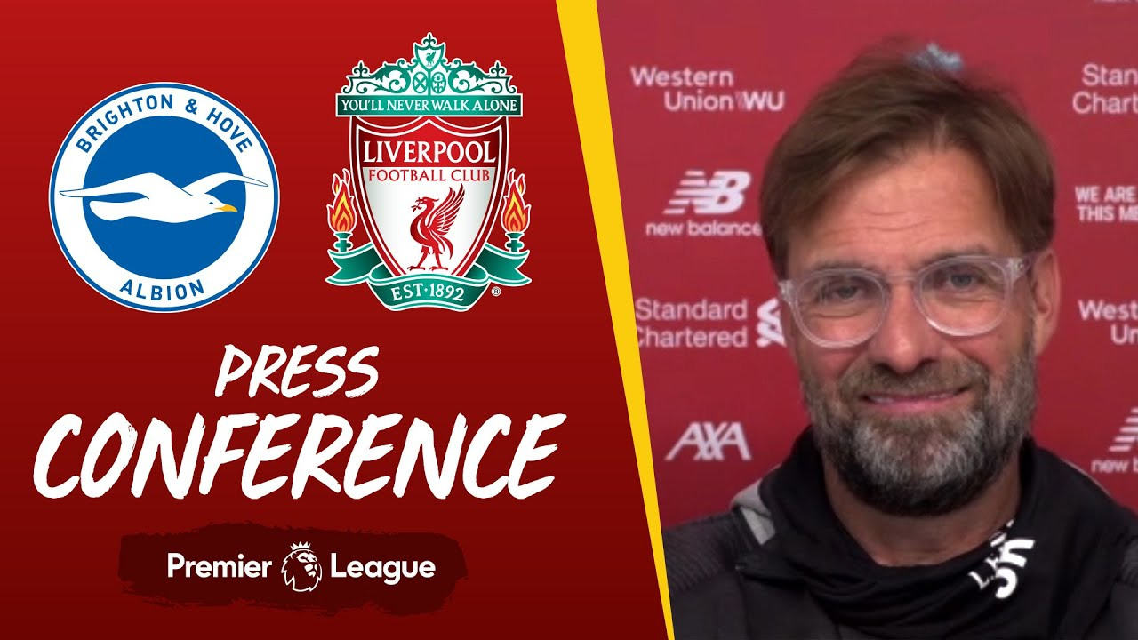 Jürgen Klopp's pre-match press conference | Brighton