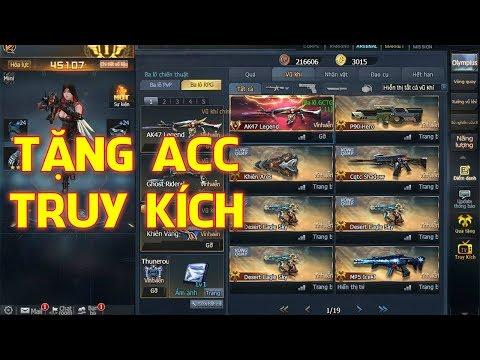 Truy kích ✓-Tặng Acc Truy Kích Miễn Phí - Shop Bán Acc Game Uy