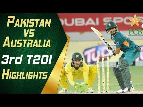 Pakistan Vs Australia 2018 | 3rd T20I | Highlights | PCB thumbnail