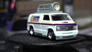 Anchorman : '77 Custom Dodge Van Retro Entertainmnet