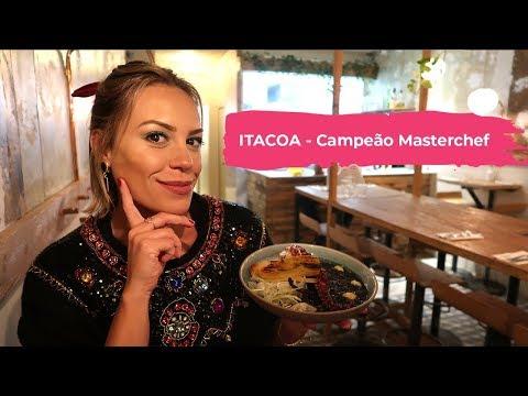 ITACOA - CAMPEÃO MASTERCHEF  PARIS  Visita a restaurante  Go Deb