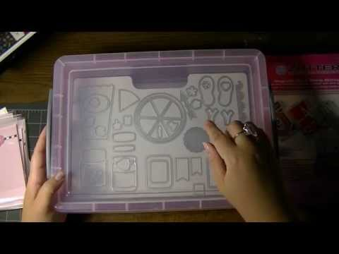 Review - Zutter Magnetic & Cling Die & Stamp Storage