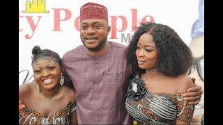 See How Beautiful Ladies Rush Odunlade Adekola At Yinka Quadri 60th birthday All Stars party