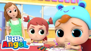 baby-john-learns-how-to-share-good-manners-amp-habits-song-little-angel-kids-songs