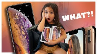 5 YEAR OLD BUYS THE NEW iPHONE XS!