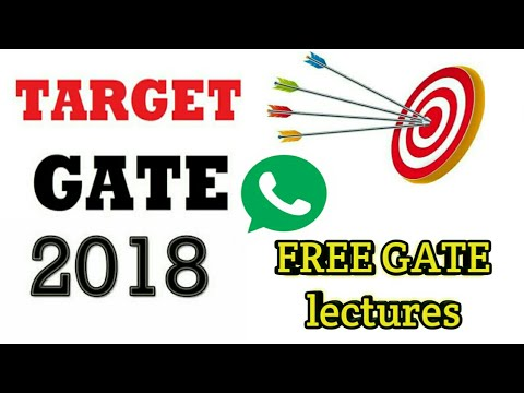 how to prepare for gate 2018 | GATE CSE preparation strategy | FREE GATE lectures of CSE on Whatsapp