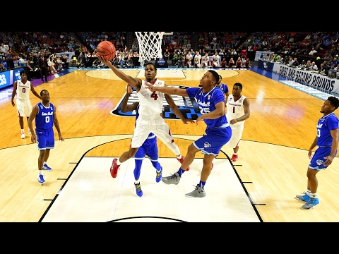 First Round: Arkansas outlasts Seton Hall