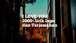 I LOVE YOU 3000 - Lirik lagu dan Terjemahan