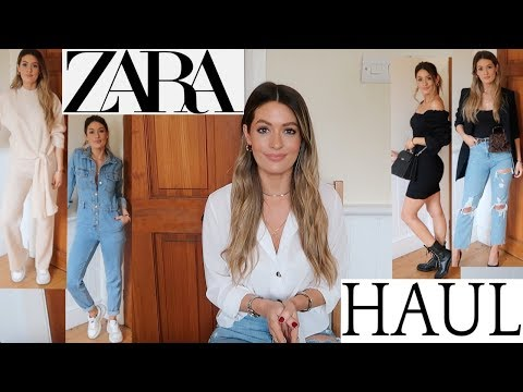 ZARA HAUL & TRY ON *NEW IN SPRING 2019* UNBOXING
