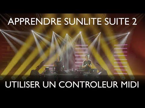 [Tutoriel] Sunlite Suite 2: La commande MIDI
