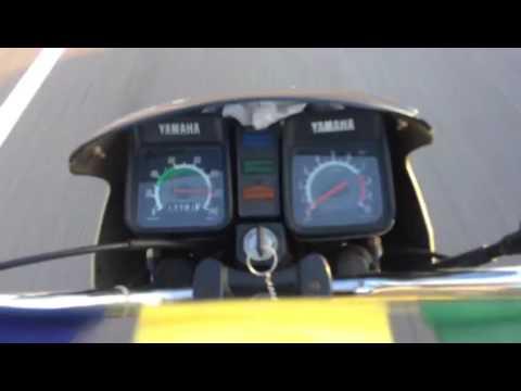 Rx z 5 speed reaching FULL SPEED !!! 140 km/h