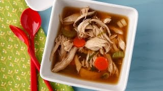 Asian Chicken Soup - Healthy Dinner Recipes - Weelicious