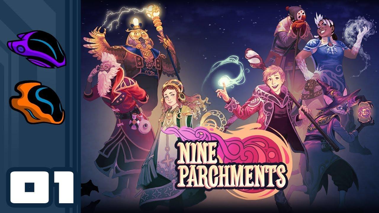 The Secret of the Parchments