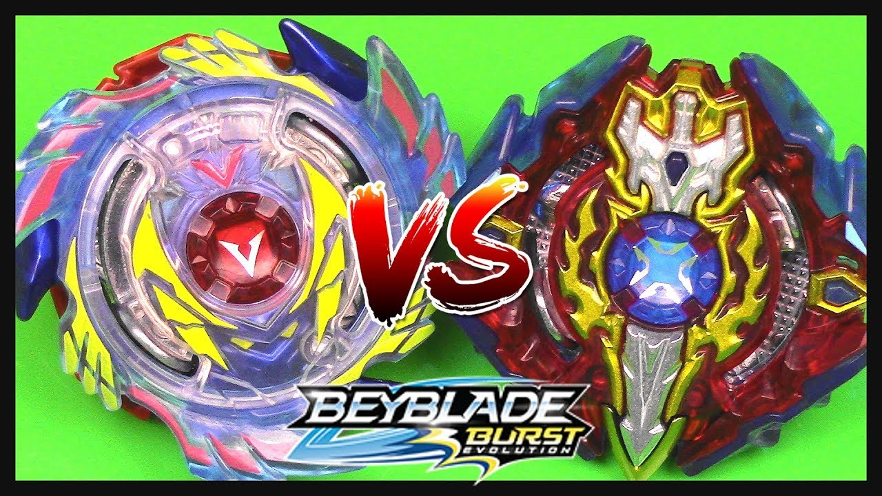 Battle Genesis Valtryek V3 Vs Xcalius X3 Beyblade Burst Evolution
