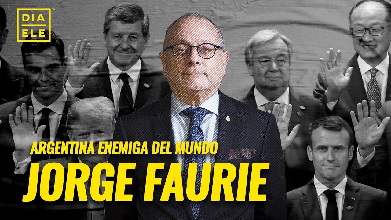 La Argentina de espaldas al mundo con Jorge Faurie, ex canciller   Día L