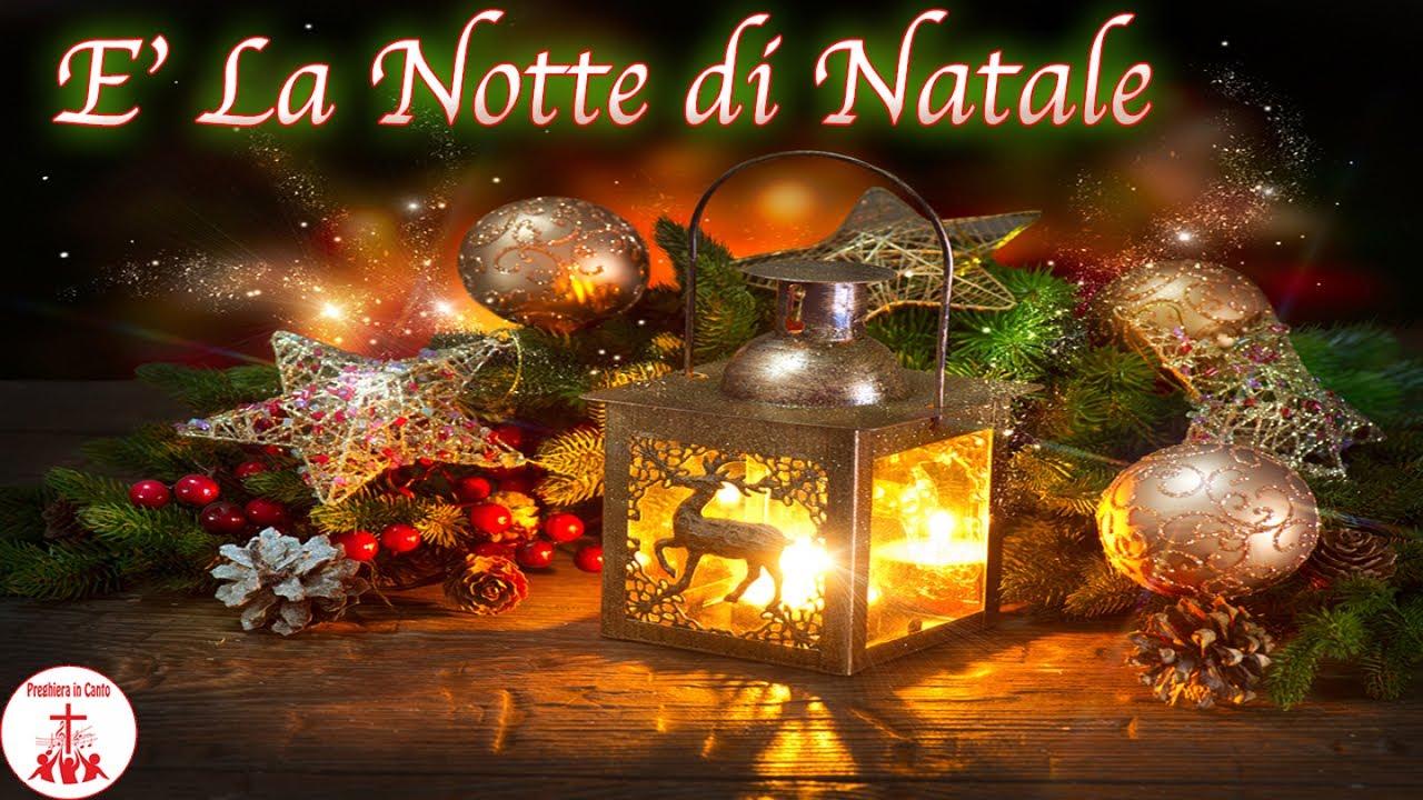 Canzone Aria Di Natale.E La Notte Di Natale Preghiera In Canto Natale Youtube