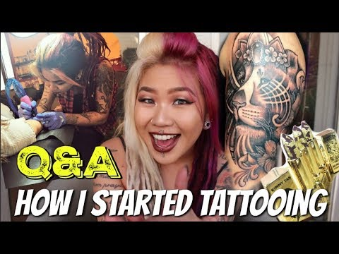 FAQ | How I Started Tattooing, Anxiety, Life Goals