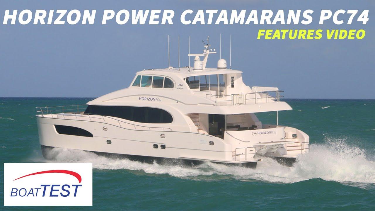 Download Horizon Power Catamarans PC74 (2018) - Features Video