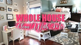 EXTREME CLEANING MOTIVATION/FALL MORNING CLEAN WITH ME 2018//CLEANING MY WHOLE HOUSE