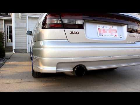 2000 Subaru Legacy exhaust fujitsubo Legalis R