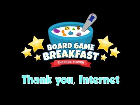 Board Game Breakfast # 200! (Thank You, Internet!)