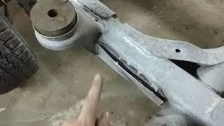 Ремонт рамы Паджеро 2. Ч 2. Пескоструйная обработка