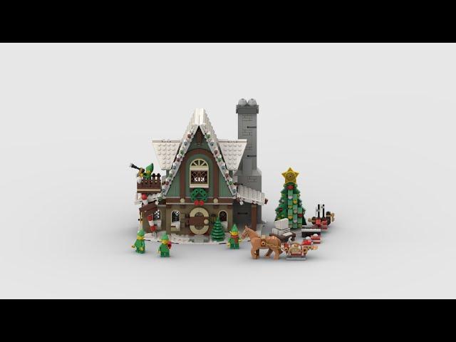 10275 Elfen-Klubhaus | Speed Build