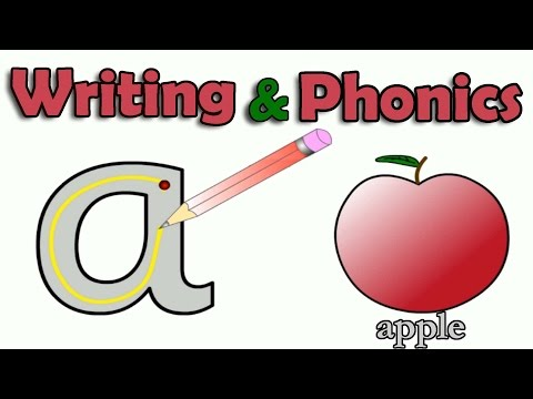 ABC, Alphabet Writing, Letter Sounds, Learn English Phonics, Animated Video For Children