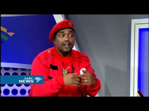 Godrich Gardee on EFF's voter registration campaign