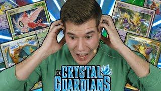 Ich ZIEHE eine 200 EURO KARTE 😱 POKÉMON EX Crystal Guardians Booster Box Opening