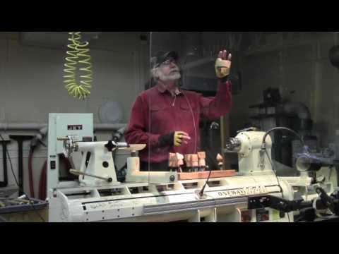 Brad Adams, Woodturner,  Presentation with Introduction