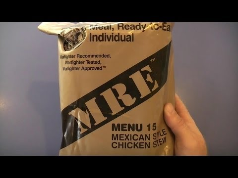 MRE Review - Menu 15 - Mexican Style Chicken Stew (2012)